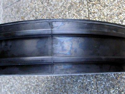 Pogumované hliníkové kolo strhávače chmele