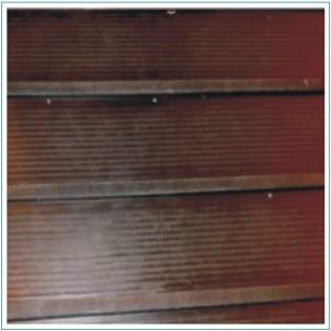 Gumová podlaha - schodnice 2400x2000mm